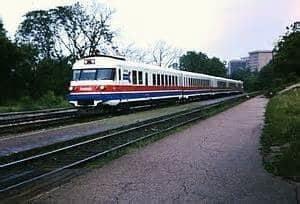 Turbine Powered High Speed Train