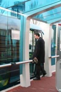 Portected passenger station GRT