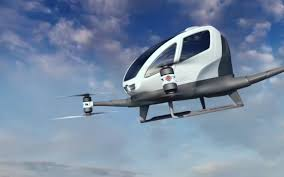 E184 Flying Robot Taxi by Ehang