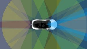 Advanced Cross Country Autopilot by Tesla