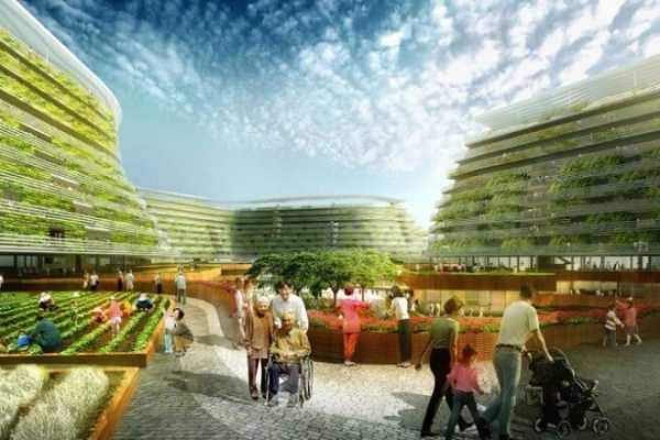 Spark Urban Farm Concept for Singapore