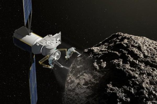 Rare Element Asteroid Mining Satellite