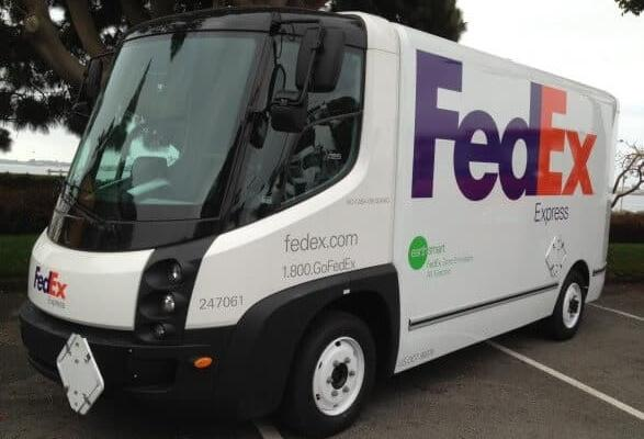 No Emission Fed Ex Electric Urban Van