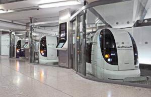 Britain-UK- Heathrow Airport-Ultra PRT-Personal Rapid Transit