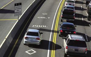 High Occupance Vehicle Lane