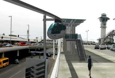 skyTran travel pod at LAX